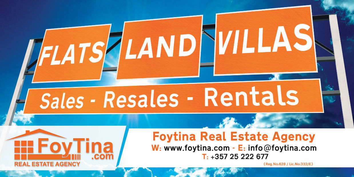 Visit our Real Estate Page for Sales & Long Term Rental in Pissouri & Cyprus